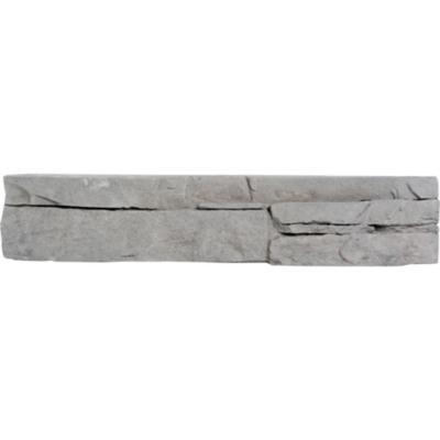 Palmeta piedra para muro 20x10 cm 0,25 m2 gris