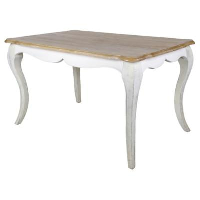 Mesa de comedor rectangular 135x85 cm
