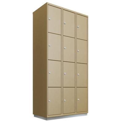 Locker acero 12 puertas con llave
