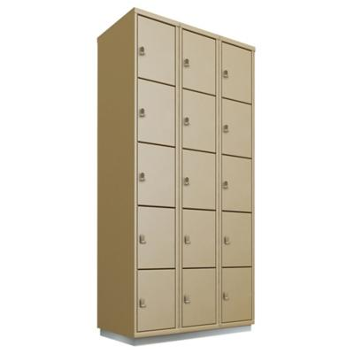 Locker acero 15 puertas con portacandado