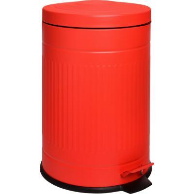Basurero de Metal 20 Lts Rojo