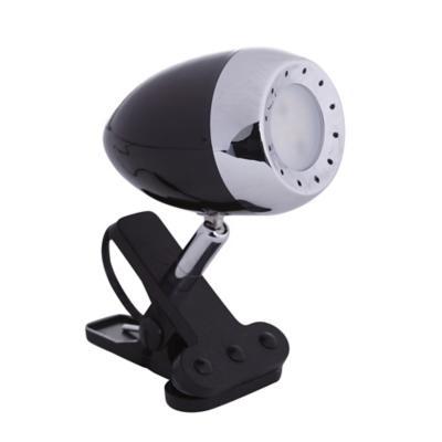 Lámpara de escritorio pinza negro led 5W
