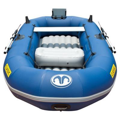 Bote plástico azul 3 personas