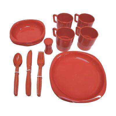 Set de picnic 4 personas plástico