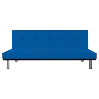 Futón 76x190x91 cm azul