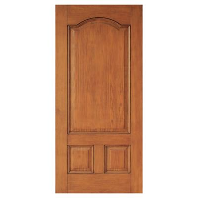 Puerta de Fibra 3 Paneles textura madera 80 x 200 cm