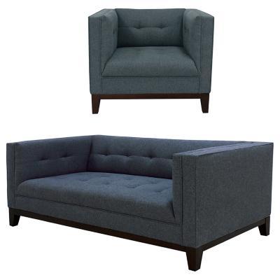Juego de living sofá 2 cuerpos + sillón