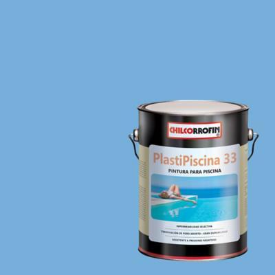 Plastipiscina 33 azul piscina