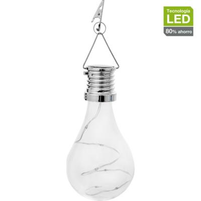 Farol ampolleta solar 1 luz led
