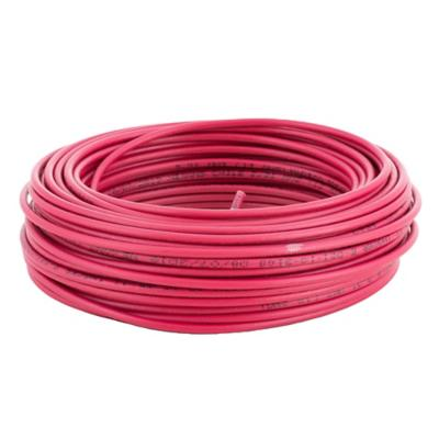 Cable eléctrico (Thhn) 12 Awg 25 m Rojo