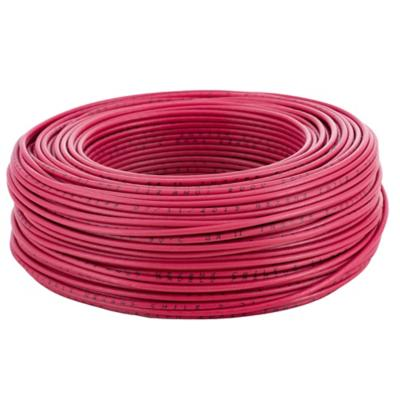 Cable eléctrico (Thhn) 12 Awg 100 m Rojo