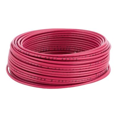 Cable eléctrico (Thhn) 14 Awg 25 m Rojo