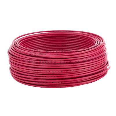 Cable eléctrico (Thhn) 14 Awg 50 m Rojo