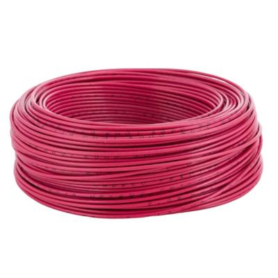 Cable eléctrico (Thhn) 14 Awg 100 m Rojo