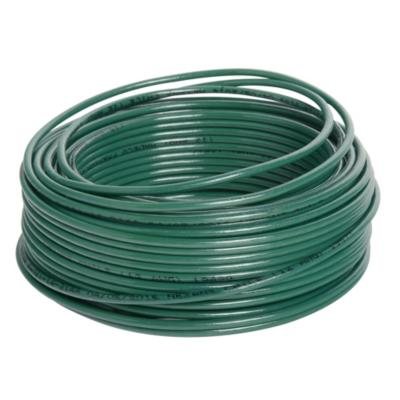 Cable eléctrico (Thhn) 14 Awg 25 m Verde
