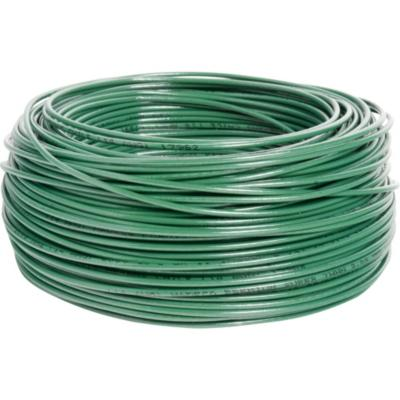 Cable eléctrico (Thhn) 14 Awg 50 m Verde