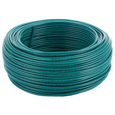 Cable eléctrico (Thhn) 14 Awg 100 m Verde