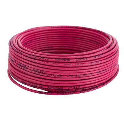 Alambre de cobre aislado (H07V-U) 1,5 mm2 25 m Rojo