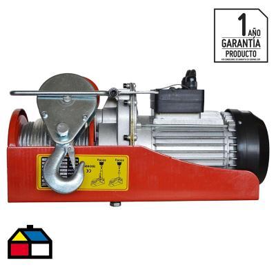 Tecle eléctrico 1350 W 0,8 toneladas