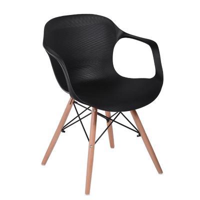 Silla 81x63x56 cm negro