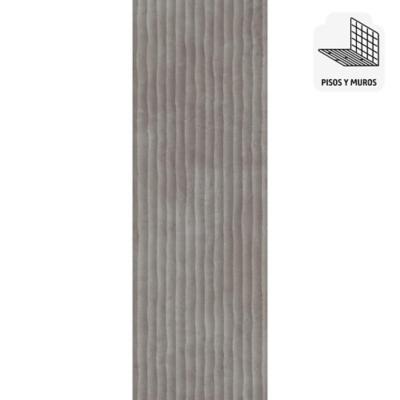 Porcelanato gris 30x90 cm 1,35 m2