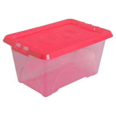 Caja Deluxe 4,7 litros fucsia