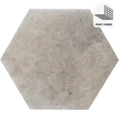 Porcelanato gris 33x28,5 cm 1 m2