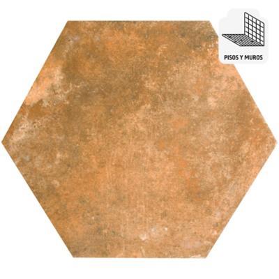 Porcelanato café 33x28,5 cm 1 m2