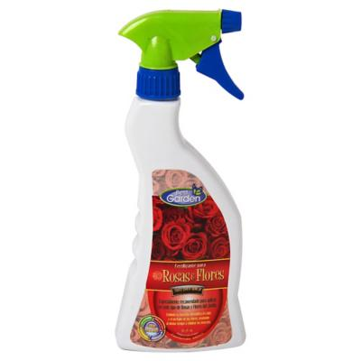 Fertilizantes para rosas y flores 450 ml spray