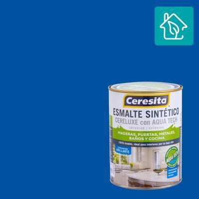 Esmalte Sintetico Cereluxe Aquatech Azul Pacific 1/4 gl