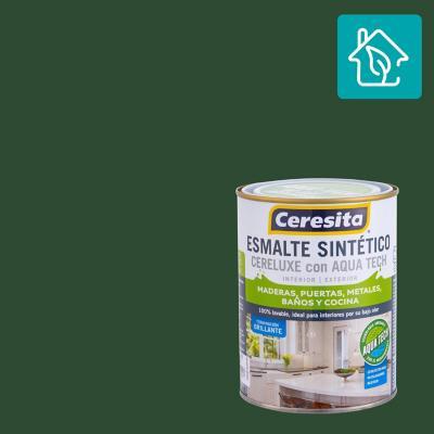 Esmalte Sintetico Cereluxe Aquatech Verde Reja 1/4 gl