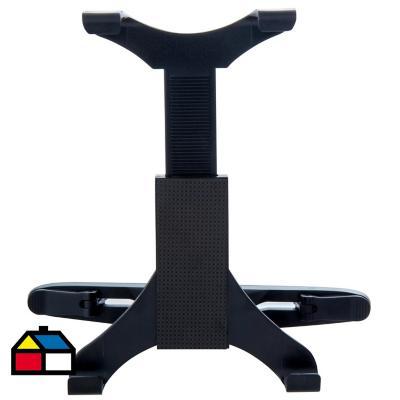 Porta tablet para auto plástico Negro 7,5x23 cm