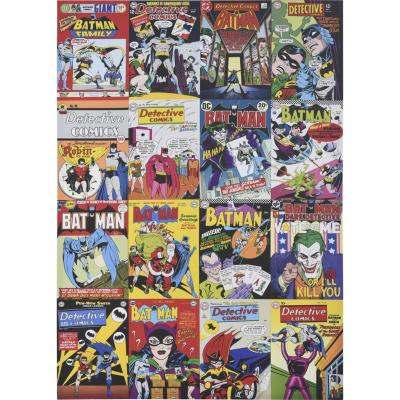 Canvas collage DC Comics 85x120 cm