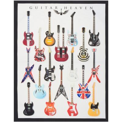 Canvas collage Guitarras 60x80 cm