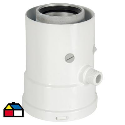 Colector condensado vertical para termo eléctrico 14x25x15 cm