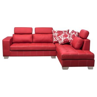 Seccional 90x180x80 cm rojo