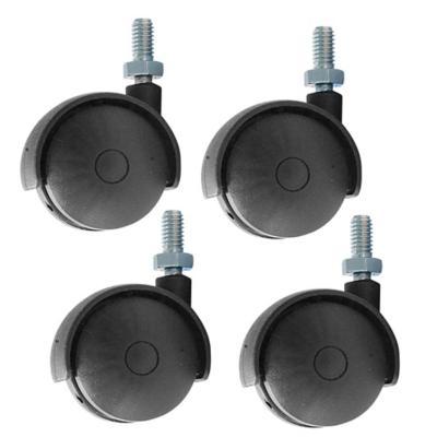 Set de ruedas para estufa 4 unidades