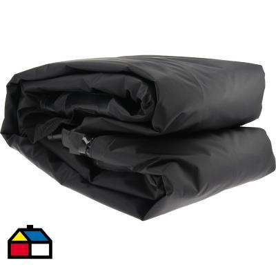 Bolso para techo 111x86x43 cm vinilo Negro