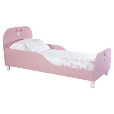 Cama de transición 70x64x152 cm rosado