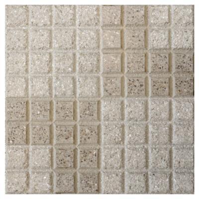 Pastelón granítico terracota 40x40 cm doble l