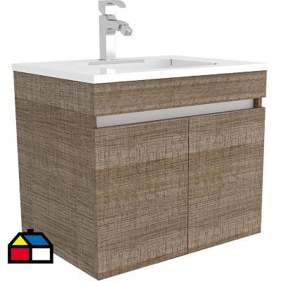 Mueble vanitorio 59x50x44 cm Olmo