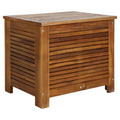 Ice box para terraza acacia 42x57x50 cm