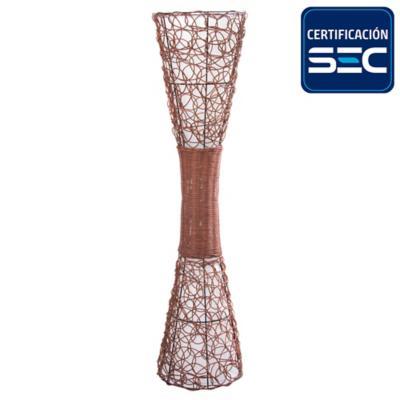 Lámpara de pie 120 cm 60 W