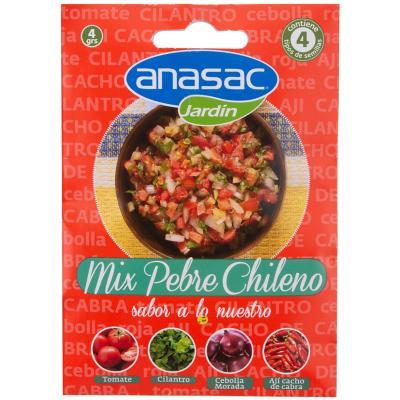 Mix Semillas Pebre Chileno 3 gr sachet