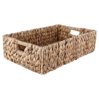 Cesto 12x28x43 cm fibra vegetal natural
