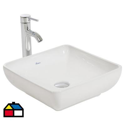 Lavamanos Loza 39,6x14x39,6 cm