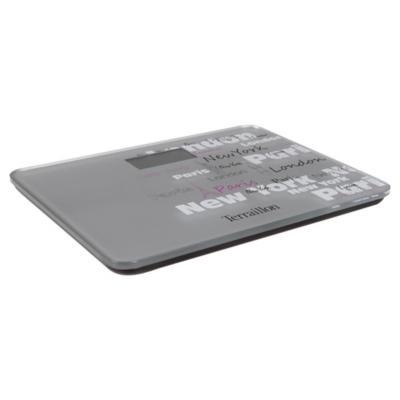 Balanza digital para baño 150 kg Silver