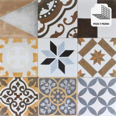 Cerámica 60x60 mix color 1,44 m2