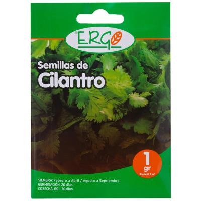 Semilla cilantro 1 gr sachet