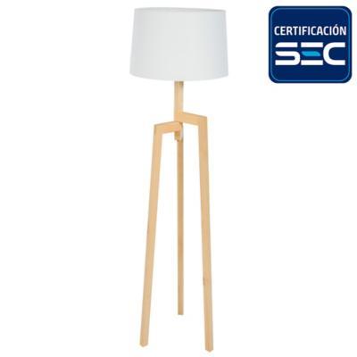 Lámpara de pie 60W Maite E27